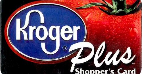 I love my Kroger Plus Card!